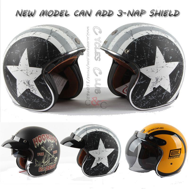 TORC T57 motorcycle helmet casco capacete vintage motocross helmets moto racer motorcycle scooter 3/4 retro open face helmet ECE