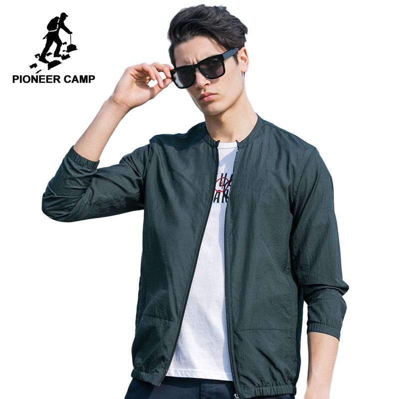 Pioneer Camp Summer sun protection clothing men jacket <font><b>ultra</b></font> light breathable waterproof Jacket men's Sunscreen 677052