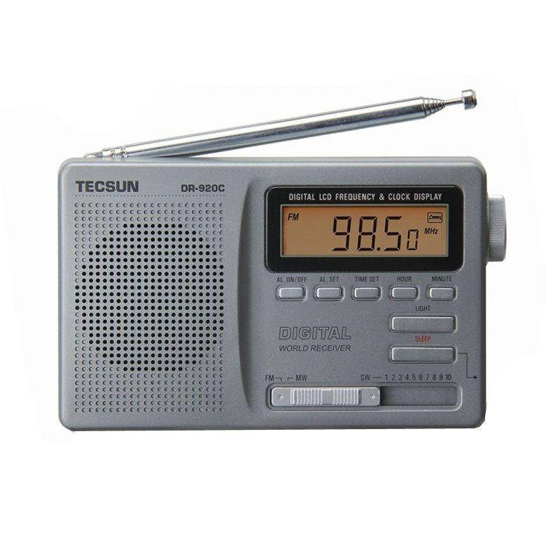 TECSUN DR-920C affichage numérique FM/MW/SW Radio multibande DR920