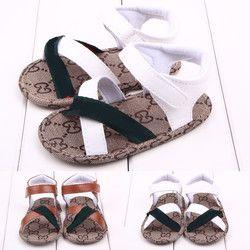Verano Primeros pasos antideslizantes del bebé del muchacho/de la muchacha, Niños/recién nacido prewalker suave Zapatos