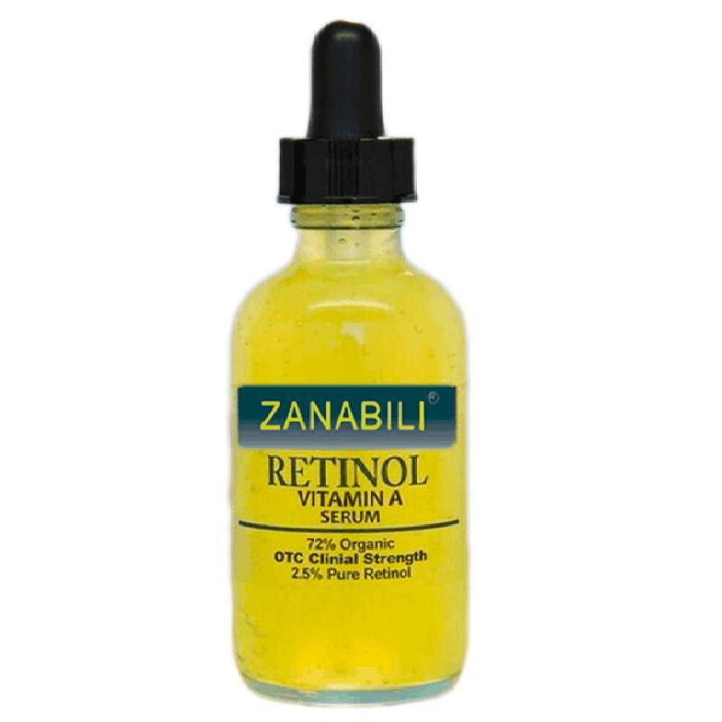 Pur Rétinol Vitamine A 2.5% + Acide Hyaluronique Soins De La Peau Crème Acné Enlèvement Taches Sérum pour le Visage Anti-Rides Blanchissant Visage crème