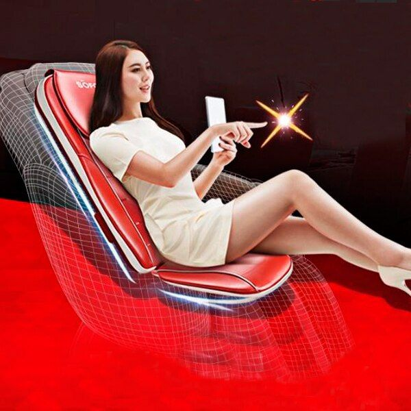 Hohe Qualität ganzkörper Hause Massage Stuhl Massagegerät Vibration Massage Pad