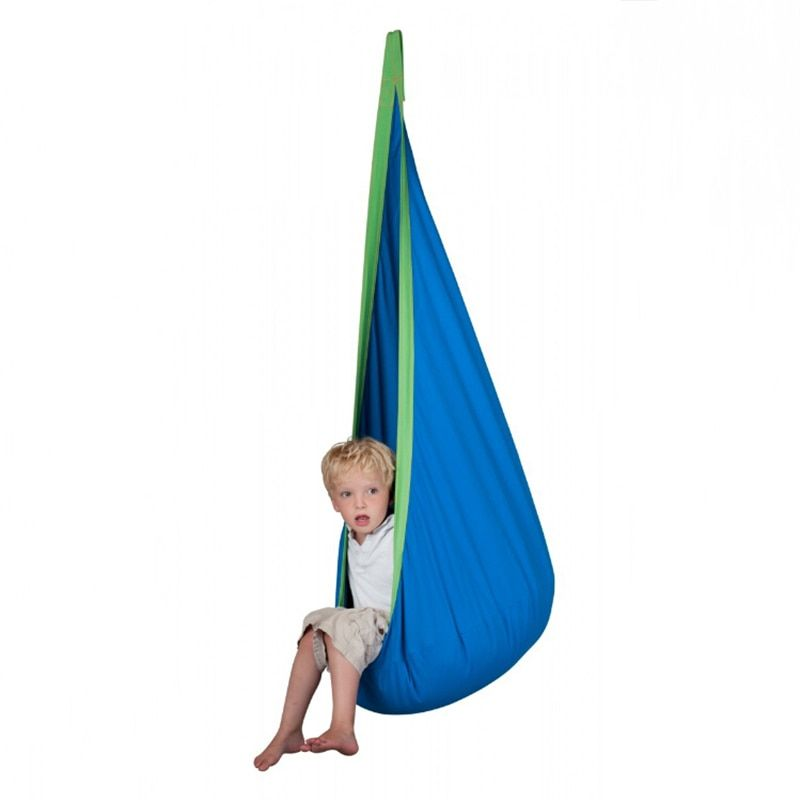 YONTREE 1 Pc Baby Inflatable Hammock Kids Hanging Chair Indoor/Outdoor Child Swing Chair with Inflatable Cushion H1339