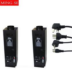 2 pcs/lots 200 W Quatre Coin étape flamme machine de Pulvérisation Feu Machine Dmx Flamme Projecteurs Équipement de Scène DMX Feu Machine