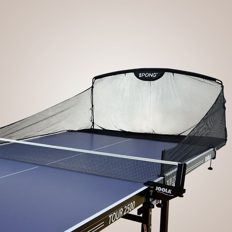 iPONG Original Table Tennis Ball Catch Net Carbon Graphite Ping Pong Ball Collecting Net for Robot Training