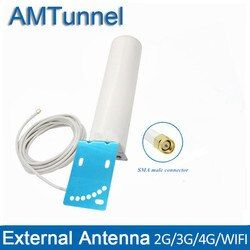 WiFi antenna 4G LTE antenna TS9 3g 4g antenna SMA male 2.4GHz external antenne with CRC9 for Huawei router 4g modem