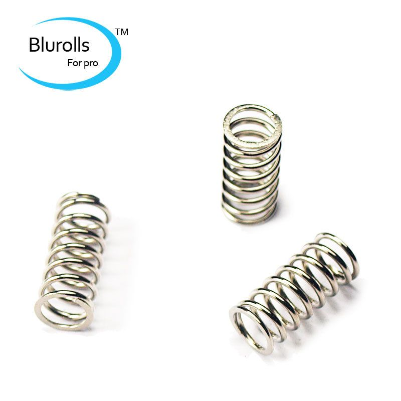 3d printer parts reprap ultimaker 2 print bed extruder compress spring 1*6*8*17mm nickel coated top quality Heating bed springs