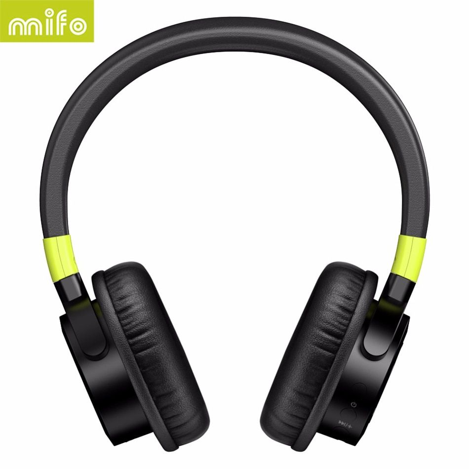 MIFO Stereo Big Casque Audio Auricular Cordless Wireless Headphones Bluetooth Earphone For Phone Computer Headset Hifi Sluchatka