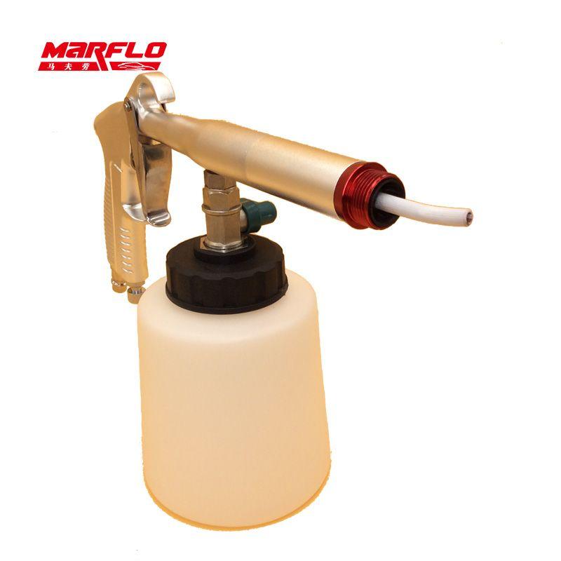 Marflo Car Washer Tornador Japanese Stainless Steel Bearring <font><b>Tube</b></font> Tornado Gun for Car Care Maintenance Water Gun Snow Foam Lance