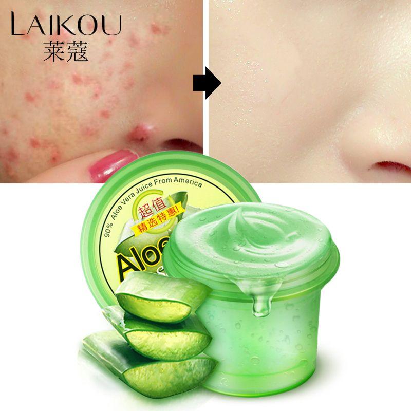 LAIKOU crème visage Anti-acné Gel d'aloe Vera crème hydratante blanchissante Anti-rides crème solaire Anti-sensible crème de jour