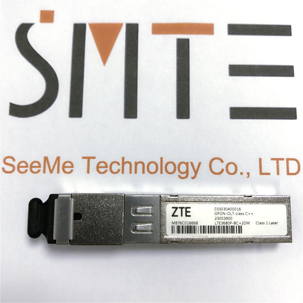 ZTE LTE3680P-BC + 2DM 033030400016 für OLT C320 C300 GPON-OLT-klasse C + + 2300390 SFP Optische Transceiver für GPON brett