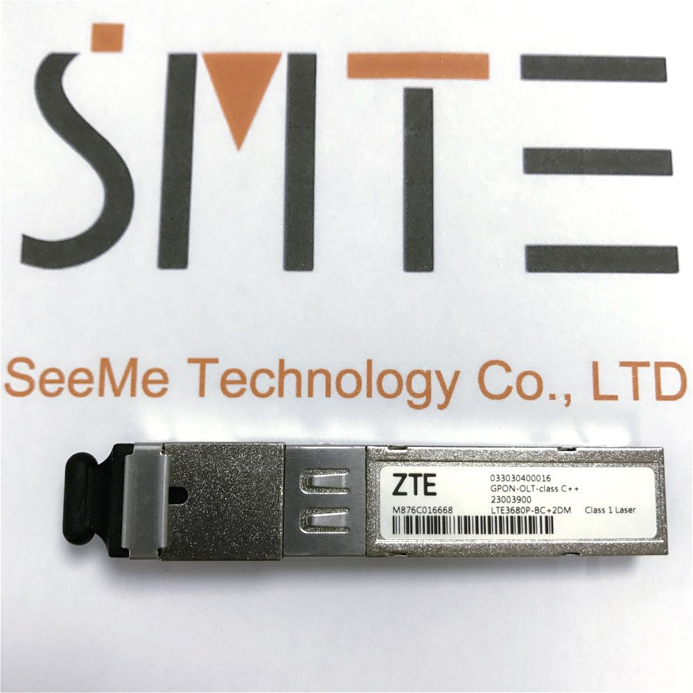 ZTE LTE3680P-BC+2DM 033030400016 for OLT C320 C300 GPON-OLT-class C++ 2300390 SFP Optical Transceiver for GPON board