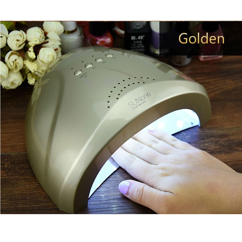 SUNone Nail  Dryer LED UV Lamp Nail 24W/48W Beauty Salon Makeup Cosmetic Nail Dryer Polish  Machine for Curing Nail Art Tools