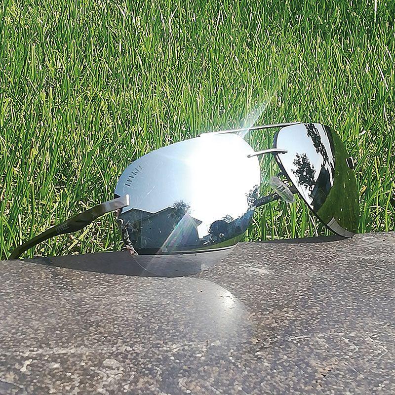 LVVKEE 2019 lunettes de Soleil Polarisées Hommes Classique Marine Air Force lunettes de Soleil En Ligne Vente HD VISION hommes Hipster lunettes de soleil gg uv400