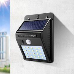 Солнечная энергия светодио дный светодиодный солнечный свет открытый светодио дный настенный светодиодный солнечный светильник с датчико...
