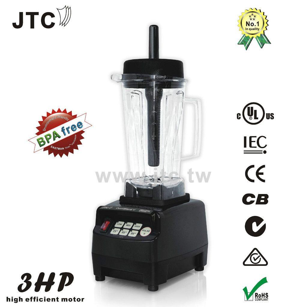 1200W Heavy duty commercial blender with BPA free jar, Model:TM-800T, Black, FREE SHIPPING