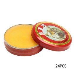 24 stücke Rot Tiger Kopf Menthol Balm Erfrischende Relief Kopfschmerzen Ätherisches Öl Massage zu entlasten kopfschmerzen