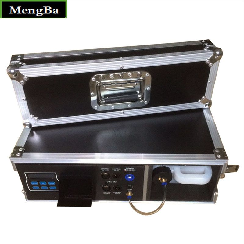 Flight Case 900W Fog Haze Machine 3.5L Fog Machine For Stage Equipment With Fog Liquid Water Based DMX512 Control Fogger