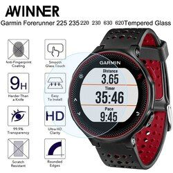 For Garmin Forerunner 235 Tempered Glass 9H 2.5D Premium Screen Protector Film For Garmin 235/225/230/220/620/630 Smart Watch