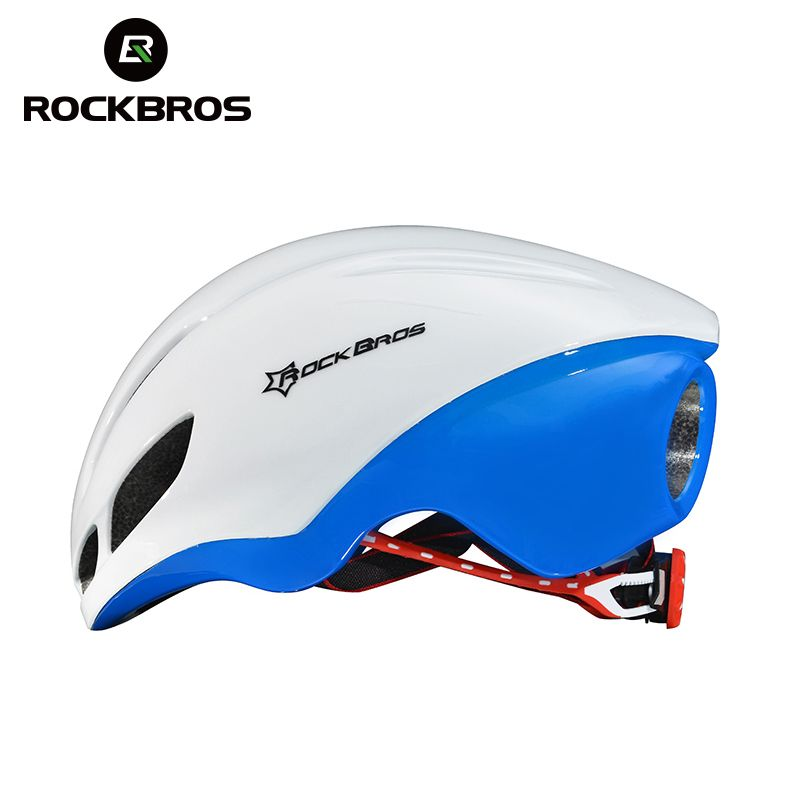 RockBros Road Bike Bicycle Streamlined Integrally-molded Helmet Men women Riding Cycling Safety Ultralight Breathable EPS Helmet