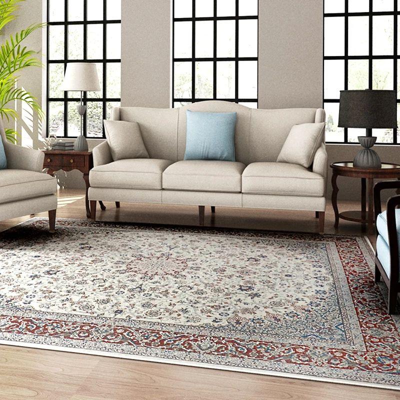 Traditional Persian bedside carpet ,big size floral living room coffee table carpet vintage decoration office carpet