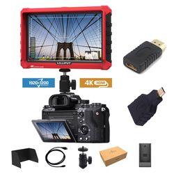 A7S Lilliput 7 Inch Utra Slim IPS Full HD 1920x1200 4 K HDMI Di depan kamera Lapangan Monitor untuk Canon Nikon Sony DSLR Kamera Video Video