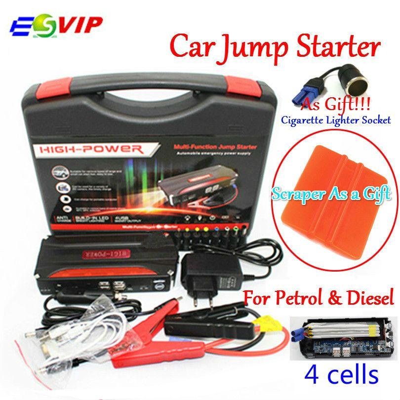 Car Emergency 12V Car Battery Jump <font><b>Starter</b></font> Booster Mini Portable Power Bank 600A Peak Current Multi-function Car Jump <font><b>Starter</b></font>