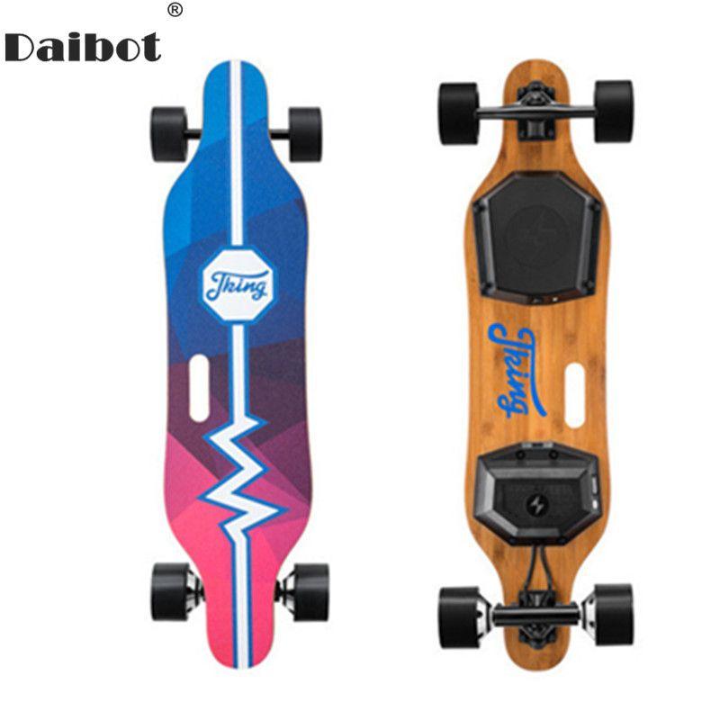 Daibot Erwachsene Elektrische Roller Elektrische Roller 450 W Hub Doppel-Stick Motor Tragbare 4 Räder Elektrische Skateboard