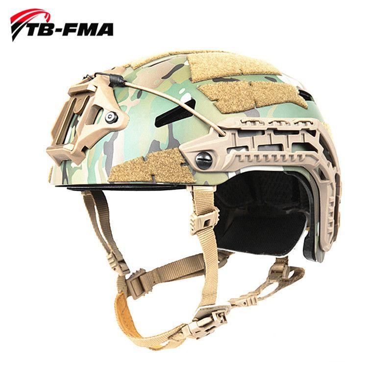 TB-FMA Beste Taktische Caiman Ballistische Helme Multicam Camouflage Military Helm für Jagd & Airsoft Skirmish Freies Verschiffen