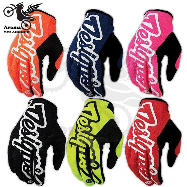 Coloré racing moto rbike gants dirt bike Vélo vélo partie vélo moto croix pièces moto handglove accessoires moto rcycle gant