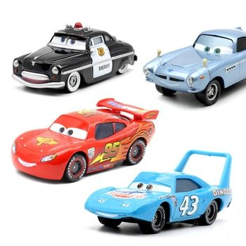 20 Style Disney Pixar Cars 2 Tempête Voitures 3 Mater Véhicule 1:55 Diecast Metal Jouets En Alliage Modèle De Voiture Cadeau D'anniversaire Pour Enfants