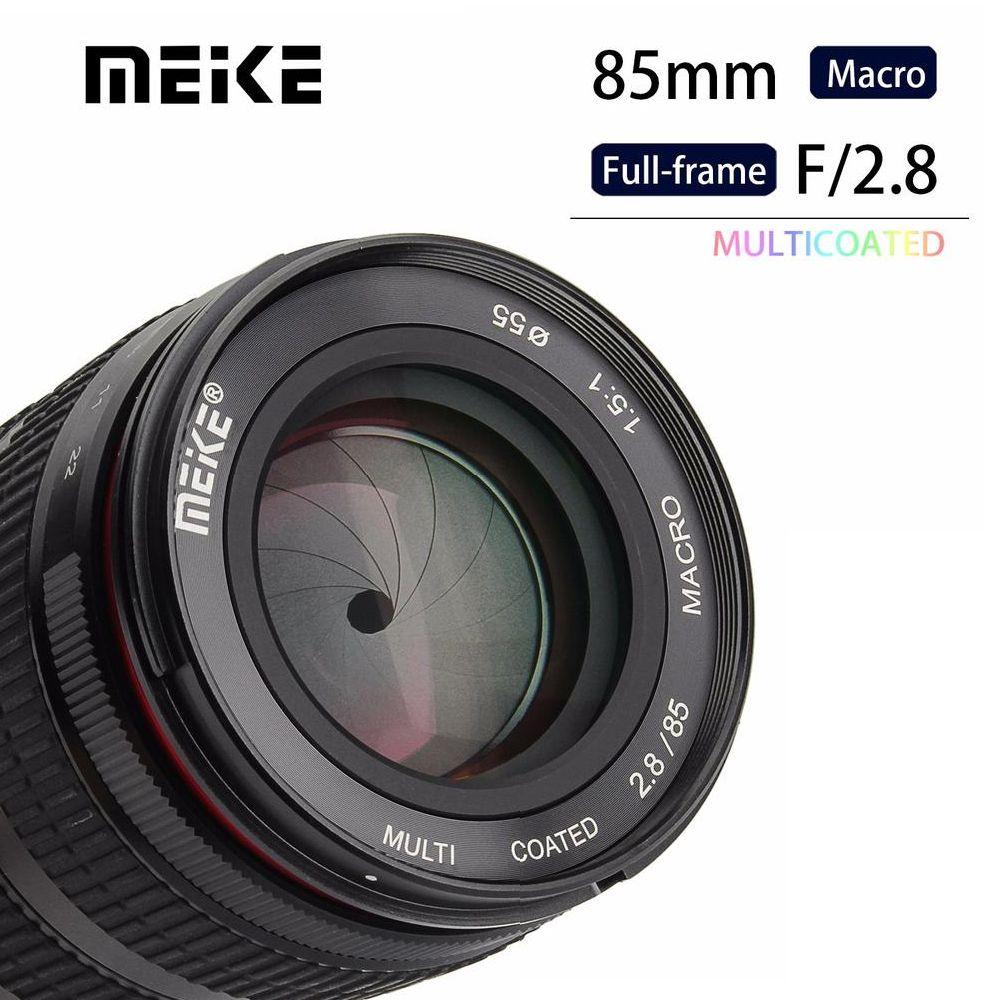 Meike MK-85mm F/2.8 Full Frame APS-C Super Medium Telephoto Macro Lens for Fuji Fujifilm X-Mount Micro single Camera