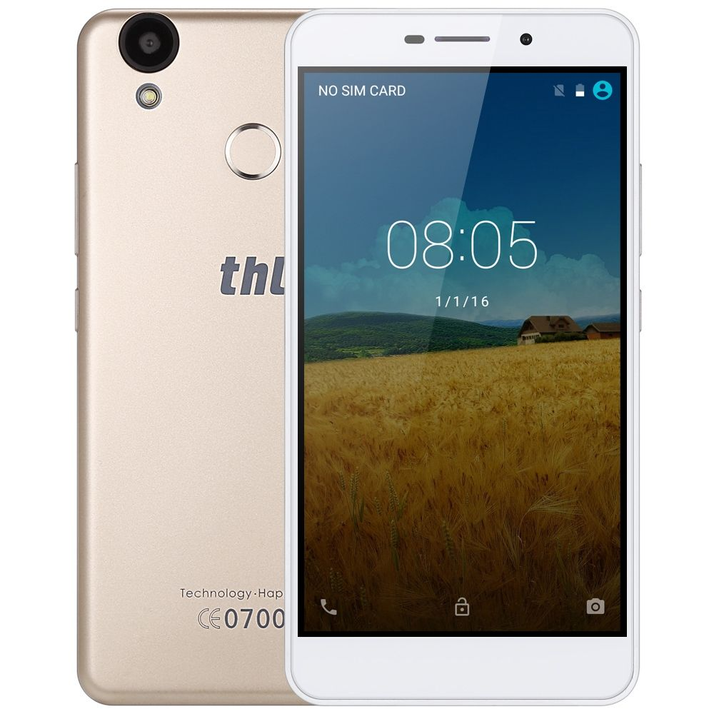 THL T9 Pro 4G Smartphone 5,5 zoll MTK6737 Android 6.0 Quad Core 1,2 GB RAM + 16 GB ROM Fingerabdruck-scanner Handy 3000 mAh