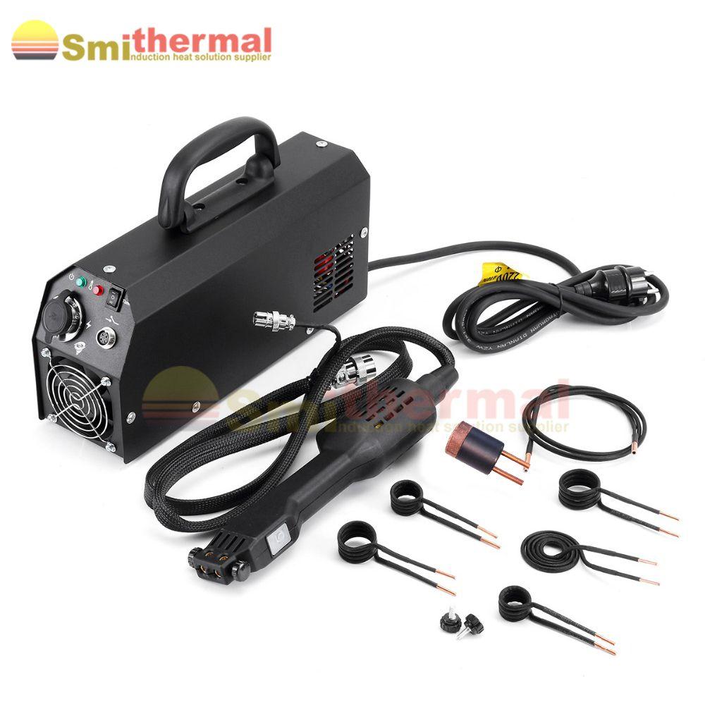 2000W 230V Handheld Hohe Frequenz Flammenlose Spule Kits Mini Induktion Heizung mini ductor