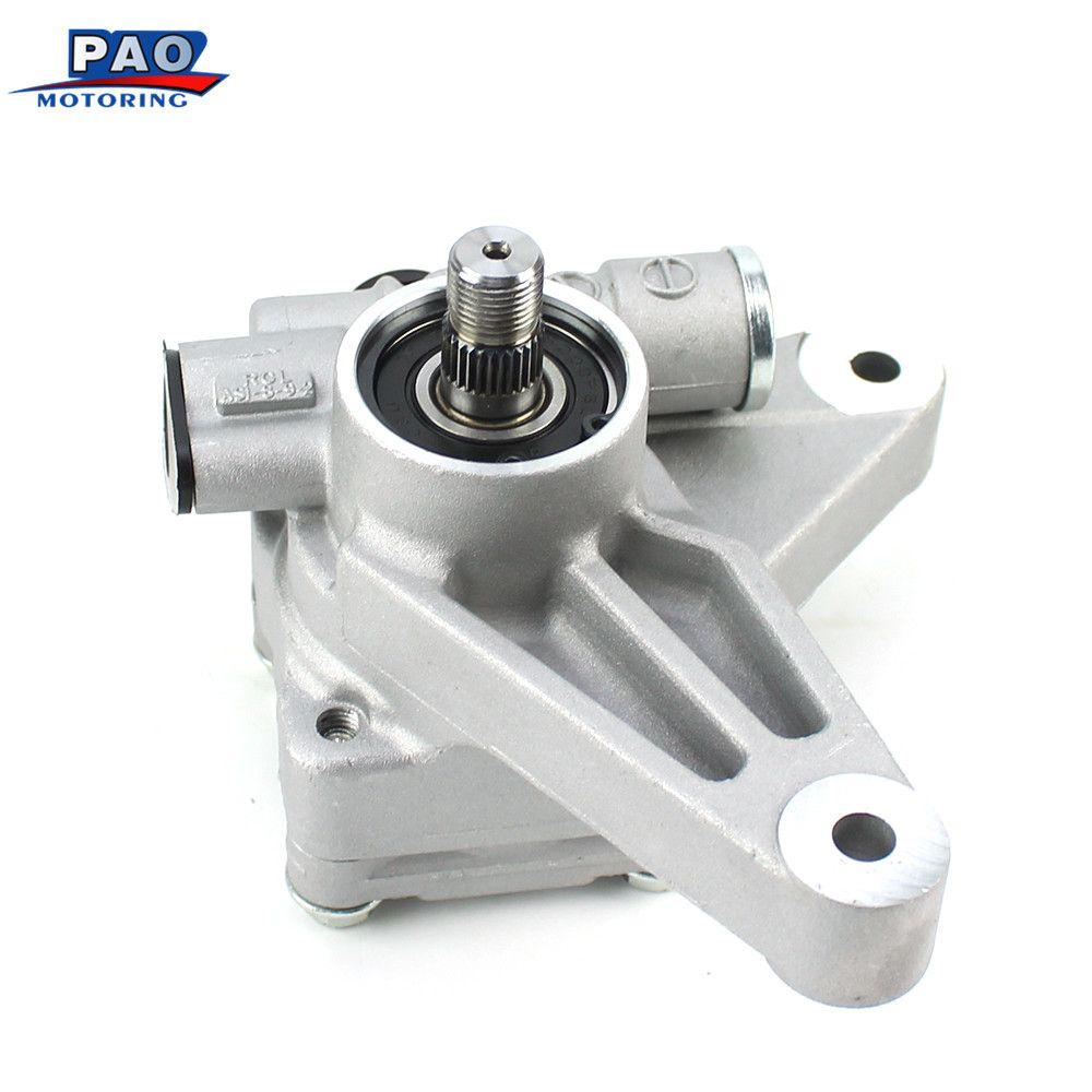 New Power Steering Pump Fit For 04-08 Acura 3.2L TL 05-08 Honda Pilot 3.5L 56110RDAA01,06561-RDA-505 Brake Servo Booster Clutch