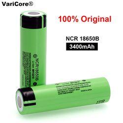 100% новый Оригинальный NCR18650B 3,7 v 3400 mah 18650 литиевая аккумуляторная батарея для аккумулятор