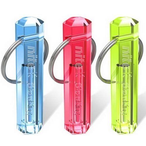 New Nite Tritium Glowing Illuminated Keyring Keychain Glow Stick Ring 10-Years