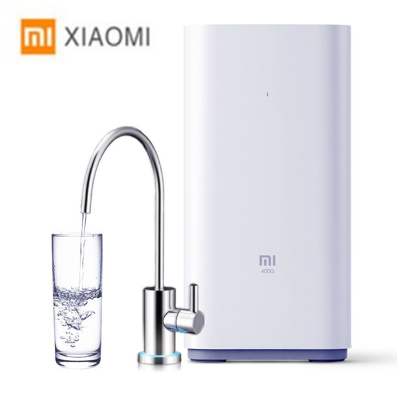 Xiaomi Original Countertop RO Water Purifier 400G Membrane Reverse Osmosis Water Filter System Technology Kitchen Type Household