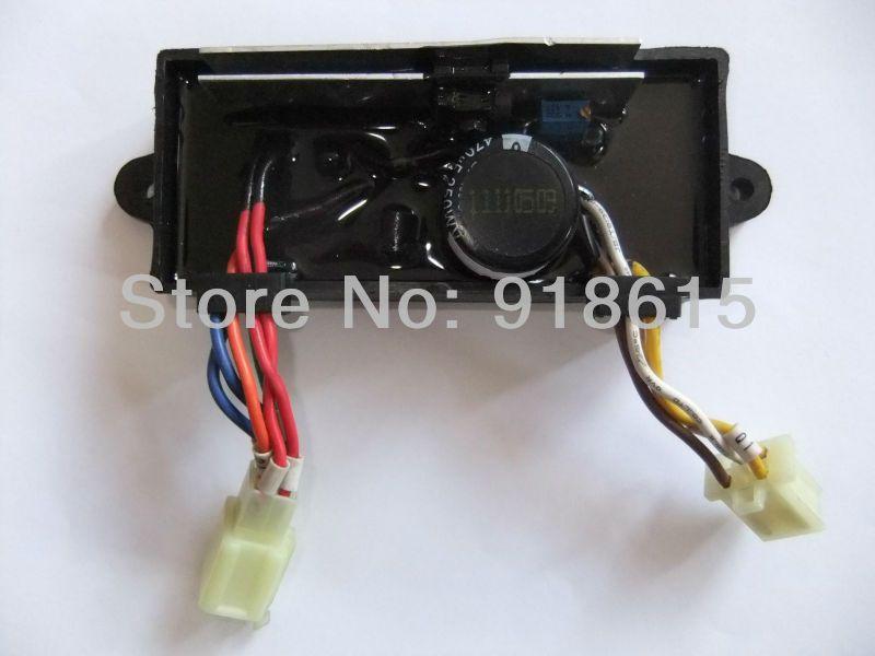GTDK AVR5-1W1C Single phase Dual use 5KW Diesel Welding Generator Welder AVR parts