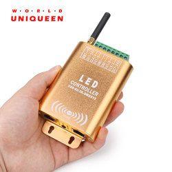 Koneksi WiFi SPI Controller 2048 Pixel LED Digital Addressable Controller Dream Warna Strip Light Controller dengan Micphone