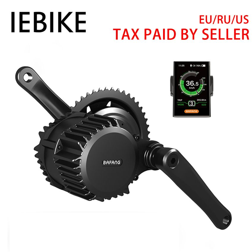 48 V 1000 W Bafang Mitte Stick DIY Ebike Elektro-bike Motor Elektrische Motor Bike Conversion Kit