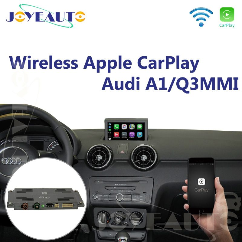 Joyeauto Aftermarket A1 Q3 MMI RMC OEM Wifi Drahtlose Apple CarPlay Interface Retrofit für Audi mit Touchscreen Reverse Kamera