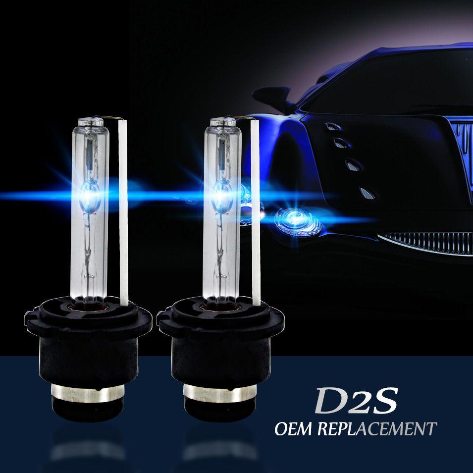 Авто Средства ухода за мотоциклом D2R D2S Авто Ксеноновые Замена лампы фар D2R 55 Вт 12 В источник света 4300 К 5000 К 6000 К 8000 К
