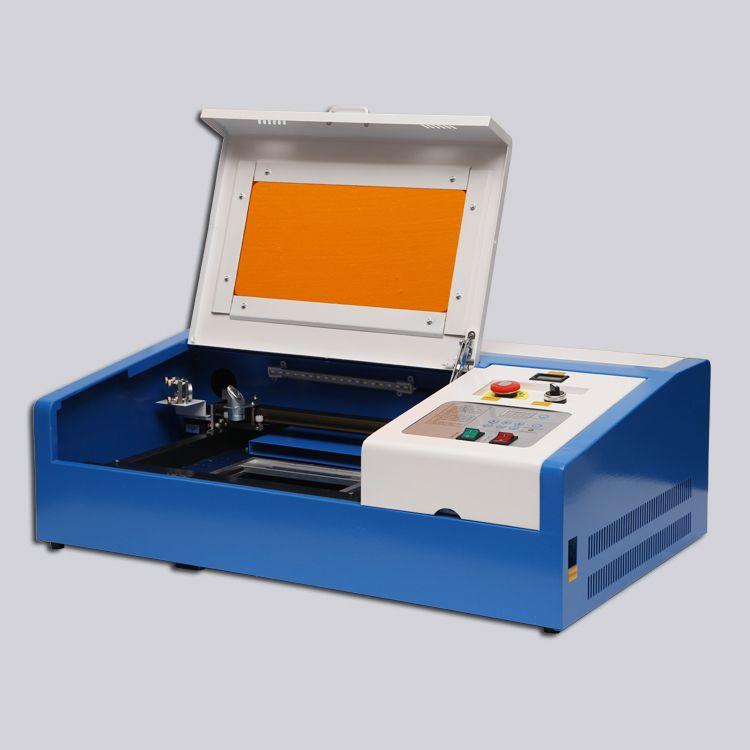 EU Freies Verschiffen CO2 Laser Gravur Schneiden Maschine 40 W mit USB Port