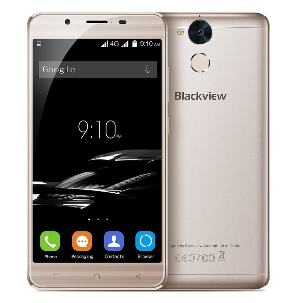 Blackview P2 4G LTE Smartphone Android 6.0 64GB Phone MTK6750T Octa core 1.5GHz 5.5 inch FHD IPS Screen 4GB RAM 13MP Dual SIM
