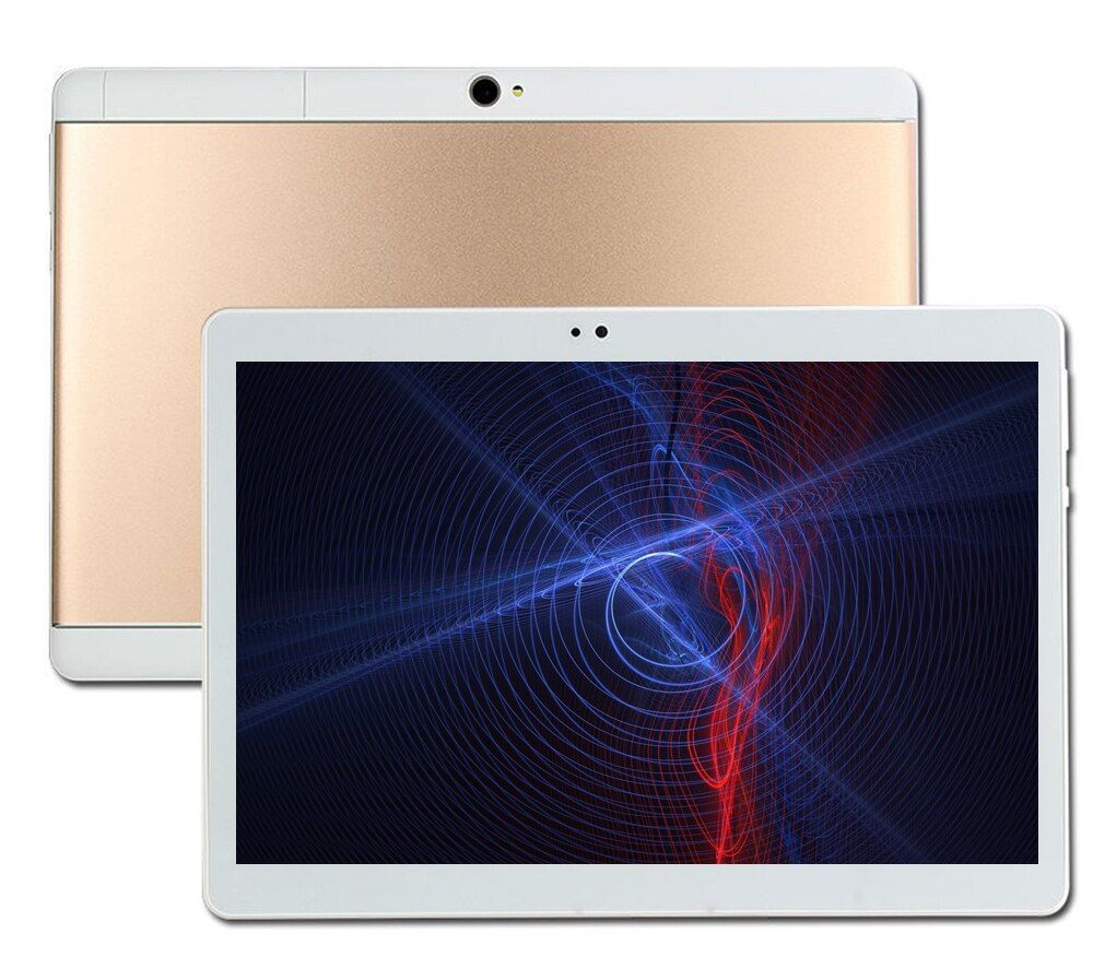 NEW MT8752 S109 64GB ROM 10.1' Tablets Android 8.0 Octa Core Dual Camera 8MP Dual SIM Tablet PC 1280x800 GPS bluetooth phone