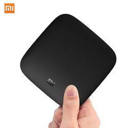 International Xiaomi MI BOX 3 Android 8.0 Smart WIFI Bluetooth 4K HDR H.265 Set-top TV Box Youtube Netflix DTS IPTV Media Player