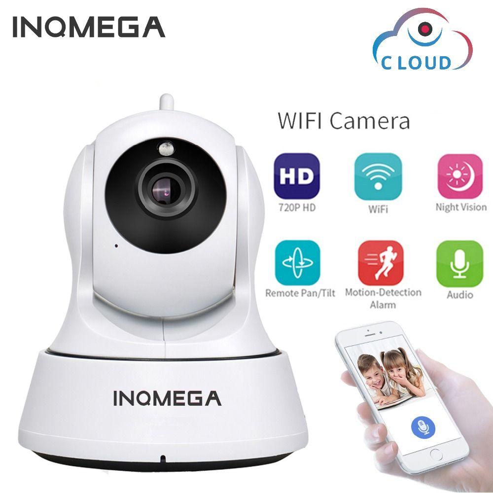 INQMEGA 720P Cloud Storage IP Camera WiFi cam Home Security Surveillance CCTV Network Camera Night Vision Pan Tilt Baby Monitor