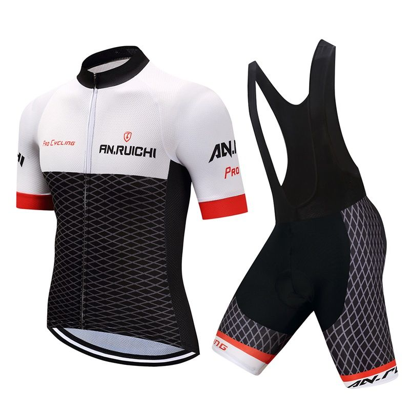cycling jersey 2018 pro team Cycling clothing Jersey breathing summer short-sleeved suit men's mtb bike clothing wear polyester