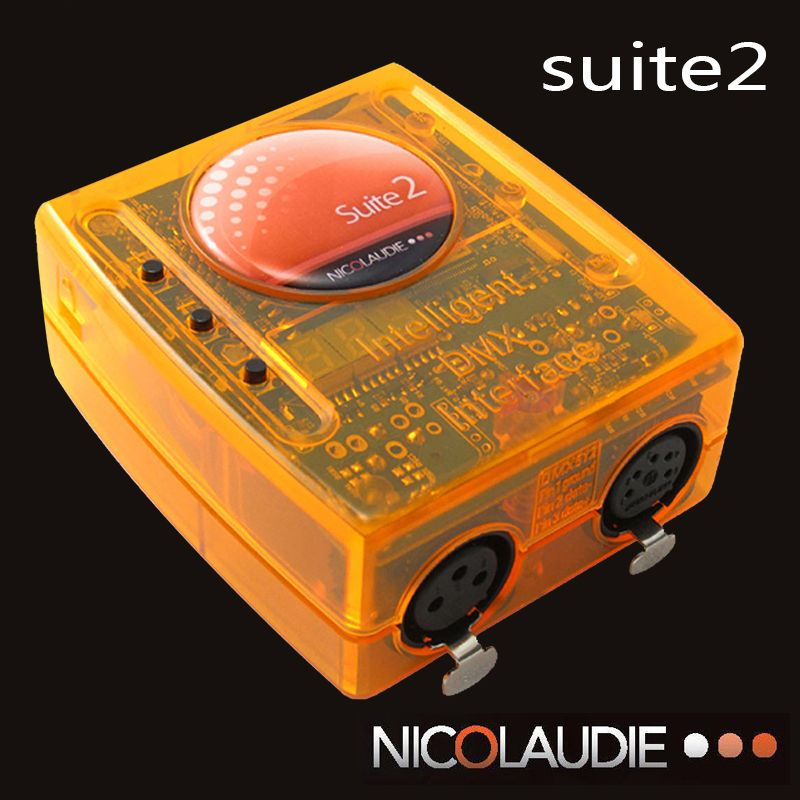 Stage controlling software Sunlite Suite2 FC DMX-USD Controller DMX good for DJ KTV Party LED Lights Stage Lighting